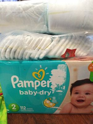Pampers for Sale in Monroe Township, NJ