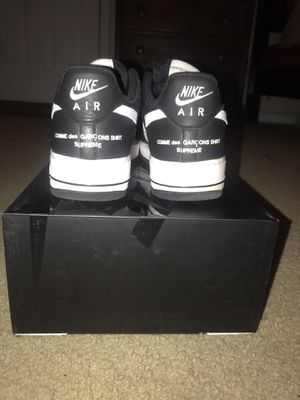 Supreme cdg Air Force ones for Sale in Apex, NC