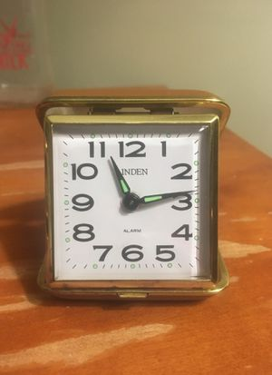 Linden Travel Alarm Clock for Sale in Niagara Falls, NY