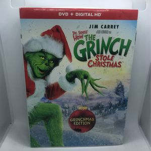 How The Grinch Stole Christmas DVD for Sale in Corona, CA