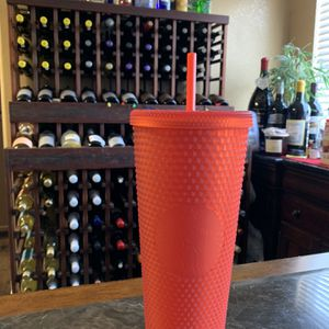 Red Matte Starbucks Cup New for Sale in Ceres, CA