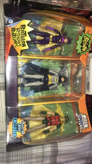 1996 Batman Classic Tv Series Batman Robin And Batgirl Figure 3-Pack for Sale in Fresno, CA