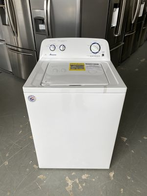 NEW Amana White Top Load Washer - NTW4516FW for Sale in Geneva, IL