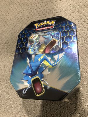 Hidden Fates Pokemon Gyarados Tin New for Sale in Herndon, VA