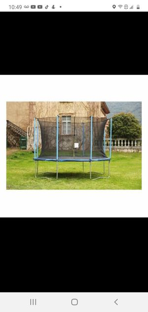 10' AirBound Trampoline with Safety Enclosure for Sale in Riverdale, GA