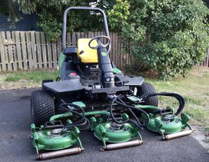 John deere commercial riding mower 4x4 diesel for Sale in Tacoma, WA