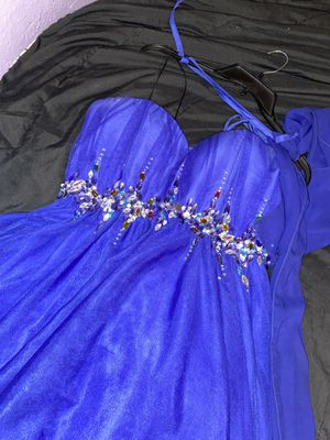 Royal blue cocktail dress for Sale in Houston, TX