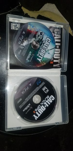 Call of duty black ops 1&2 Ps3 for Sale in Los Angeles, CA