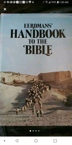 """EERDMANS"""" handbook to the Bible for Sale in Tulsa, OK"""
