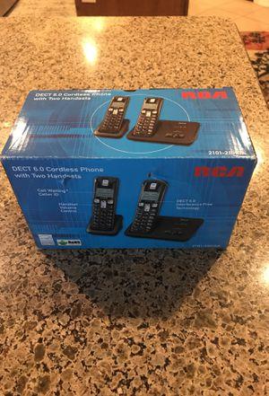 RCA DECT 6.0 cordless phones new for Sale in Phoenix, AZ
