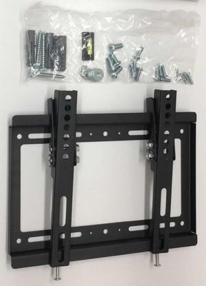 New in box 17 to 37 inches tv television tilt mount bracket for surveilance system soporte de tv for Sale in Whittier, CA