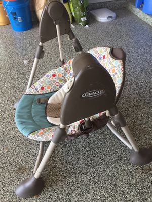 Graco Baby Swing (battery powered) for Sale in Leander, TX