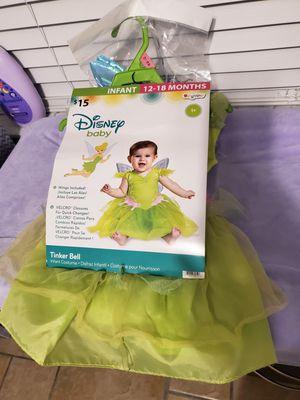 Toddler tinkerbell Halloween costume for Sale in Polk City, FL