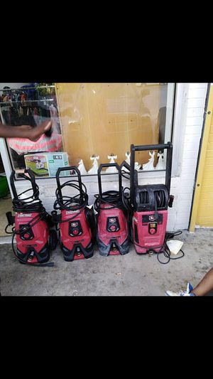 4 pressure washers for Sale in Atlanta, GA