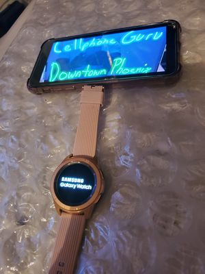 Samsung Galaxy watch 42mm Cellular LTE Unlocked + GPS for Sale in Phoenix, AZ
