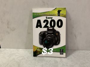 Sony A200 by Shawn Barnett, 2009 for Sale in Happy Valley, OR
