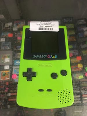 Nintendo GameBoy color - limited edition apple green for Sale in New Britain, CT