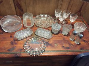 Antique glass china for Sale in Cypress, TX