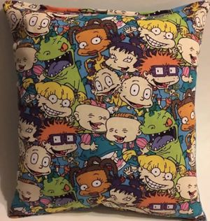Rugrats the show travel size pillow for Sale in Lancaster, PA