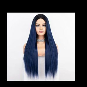 A Black Fading Into Blue Wig Good Condition Just Needs To Be Styled for Sale in Crestview, FL