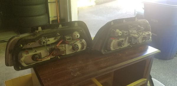 91-95 Acura Legend Coupe left and right Tail Light Assemblies