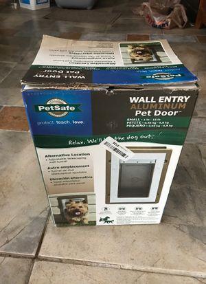 PET SAFE wall entry pet door for Sale in Redlands, CA