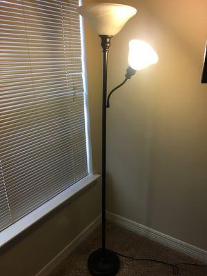 Two bulb floor lamp for Sale in Smyrna, GA
