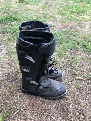 Motor cross boots for Sale in Portland, OR