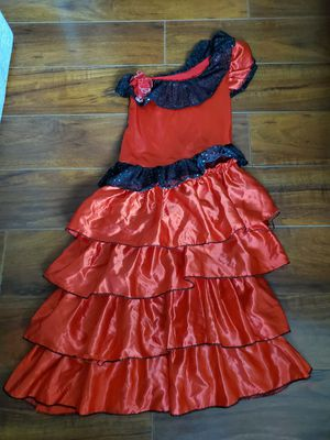 Flamenco dress Halloween costume for Sale in Spring Valley, CA