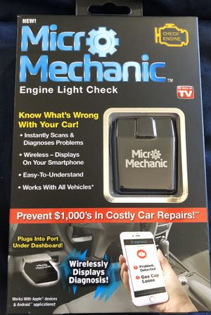 BRAND NEW, NEVER USED Micro Mechanic Auto Diagnostic Scanner As Seen On TV for Sale in Las Vegas, NV