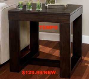 Vatson Square End Table, Dark Brown for Sale in Santa Ana, CA