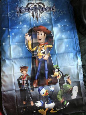 Kingdom hearts 3 cloth poster for Sale in Everett, WA