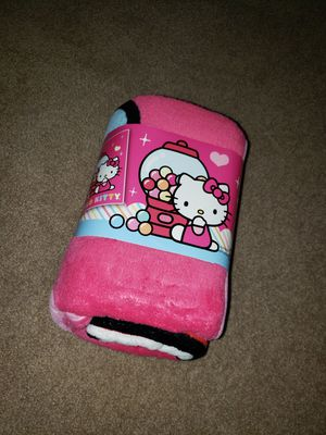 Hello kitty blanket for Sale in Peoria, AZ