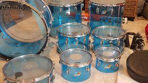 Vintage Ludwig 70's Vistalite Drum Set for Sale in Broadlands, VA