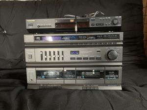 Panasonic SG-H30 stereo system with 32 inch Panasonic speakers. All in working order. This does not have a turn table. Does have a CD/DVD player. for Sale in Shamokin, PA