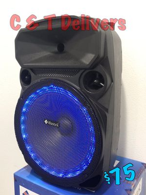 12 Inch Bluetooth Speaker • New In Box • BASS • Loud • 3,600 Watts* Of Music & Fun 💥 Mucho Party 💥 for Sale in Carson, CA