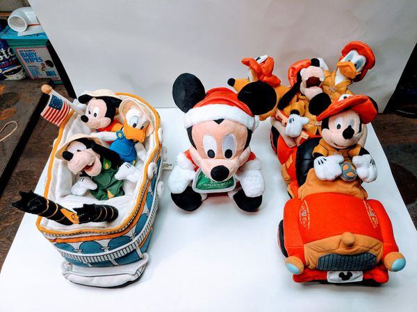 Vintage Disney Plush Toy Collection