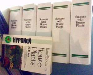 Success with House Plants (books in large notebook-like binders) for Sale in Bridgeville, PA