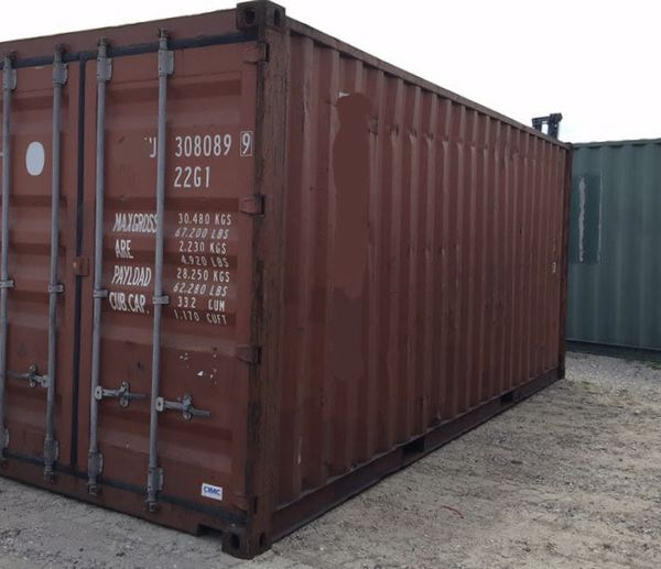Used Containers- 20' SD WWT Storage Connex Containers