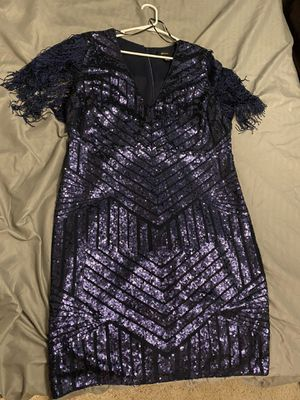 Navy special occasion dress size 2X for Sale in Surprise, AZ