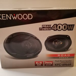 Kenwood 6×9 Speakers 400W New&Sealed [Available Today] for Sale in San Diego, CA