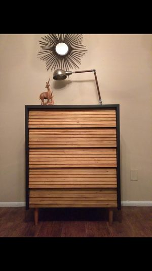 Mid-century Lawrence Peabody Highboy dressers designed for Child Craft. for Sale in Mesa, AZ