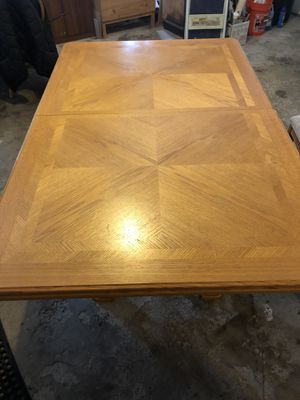 Dinning room table with 6 chairs for Sale in St. Charles, IL