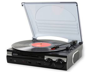 Jenson Black Vinyl Record Player for Sale in Chapel Hill, NC