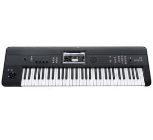 Korg Krome 61 keyboard music workstation brand new never used for Sale in Dallas, TX