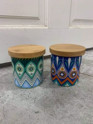 Matching Ceramic Planter Pots for Succulents or Small Plants for Sale in Los Angeles, CA