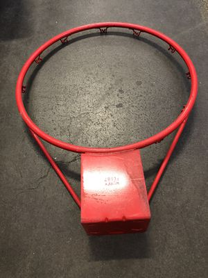 "Vintage 1987 Huffy Sports Basketball Hoop Rim 18"" Official Size NBA Orange for Sale in South San Francisco, CA"