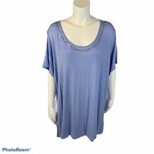 Women's Jaclyn Smith periwinkle Top size 3x for Sale in Surgoinsville, TN