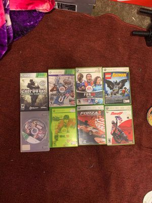 Xbox 360 games for Sale in Salinas, CA