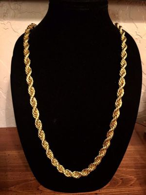 14k Gold Rope Chain For Sale! for Sale in Bakersfield, CA